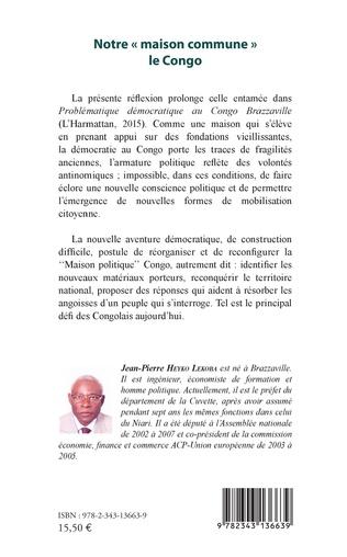 4eme Notre « maison commune » le Congo