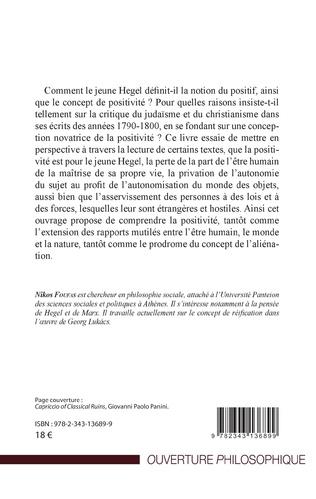 4eme Critique de la positivité chez le jeune Hegel