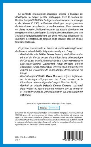 4eme Emploi des forces armées sur le territoire de la République démocratique du Congo : enjeux et limites