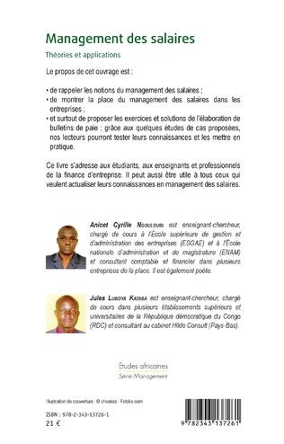 4eme Management des salaires