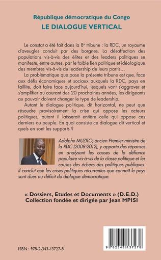 4eme République démocratique du Congo 10e tribune