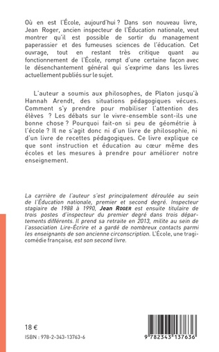 4eme L'école, une tragi-comédie française