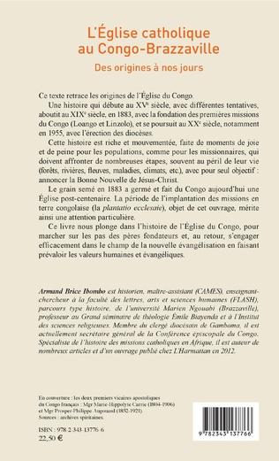 4eme L'église catholique au Congo-Brazzaville