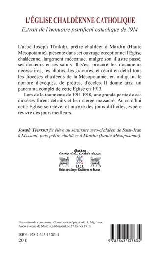 4eme L'Eglise chaldéenne catholique
