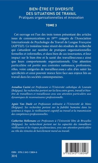 4eme Qualité de vie au travail et counseling : effets individuels et/ou organisationnels aupres des conseiller-e-s d'orientation psychologues en France