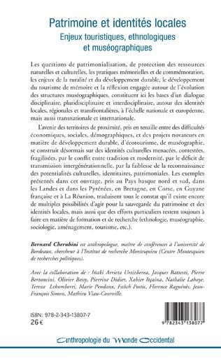 4eme Ethnologie régionale et anthropologique appliquée Une expérience brestoise