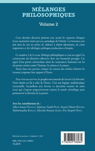 4eme Mélanges philosophiques Volume 2