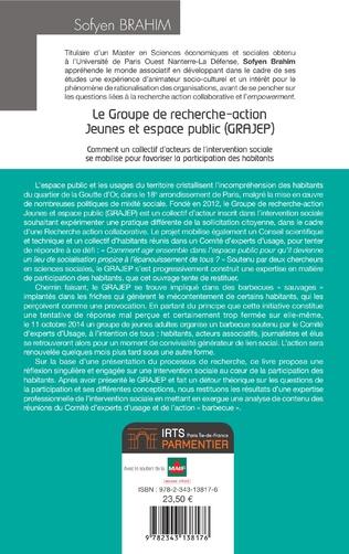 4eme Le Groupe de recherche-action Jeunes et espace public (GRAJEP)