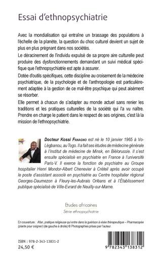 4eme Essai d'ethnopsychiatrie