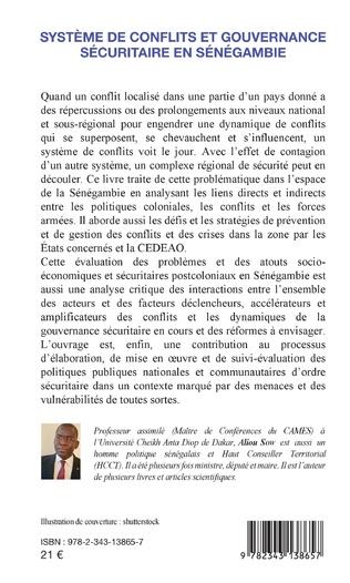 4eme Système de conflits et gouvernance sécuritaire en Sénégambie