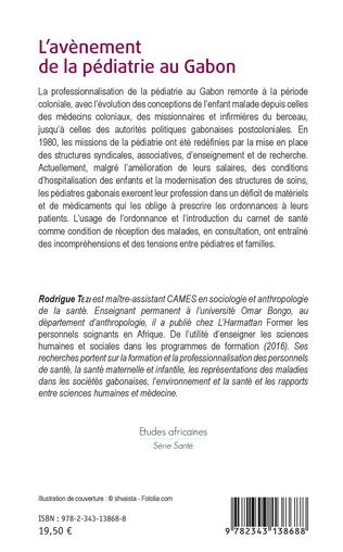 4eme L'avènement de la pédiatrie au Gabon