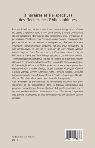 4eme Itinéraires et perspectives des Recherches Philosophiques