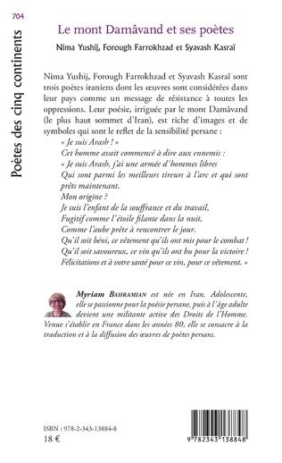 4eme Le Mont Damâvand et ses poètes