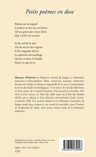 4eme Petits poèmes en dose