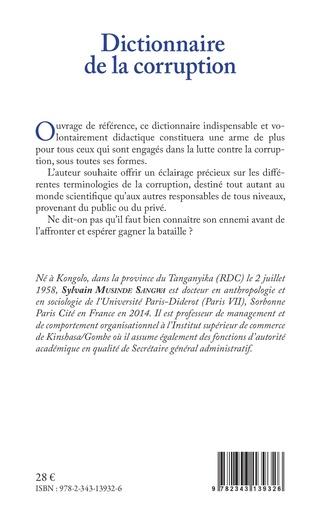 4eme Dictionnaire de la corruption