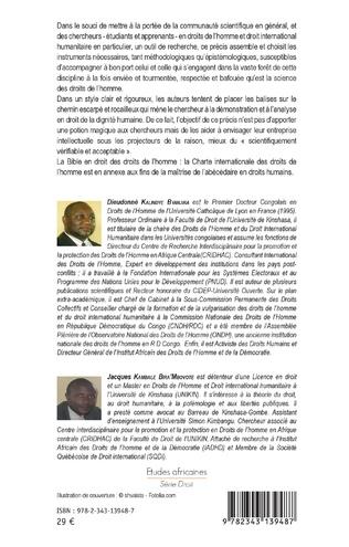 4eme Précis de la méthodologie en droits de l'homme et droit international humanitaire