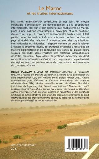4eme Le Maroc et les traités internationaux