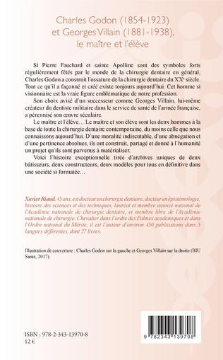 4eme Charles Godon (1854-1923) et Georges Villain (1881-1938),
