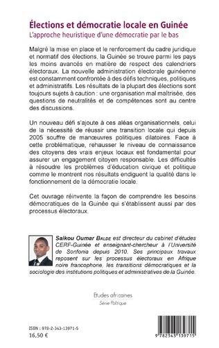 4eme Elections et démocratie locale en Guinée
