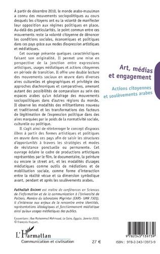 4eme Art, médias et engagement