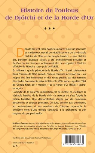 4eme Histoire de l'oulous de Djötchi et de la Horde d'Or