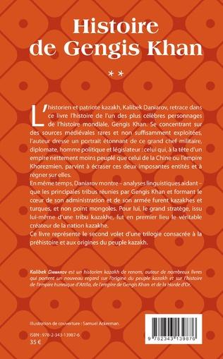 4eme Histoire de Gengis Khan