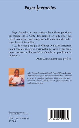 4eme Pages factuelles. Poésie