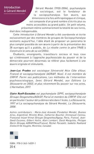 4eme Introduction à Gérard Mendel