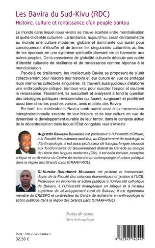 4eme Les Bavira du Sud-Kivu (RDC)
