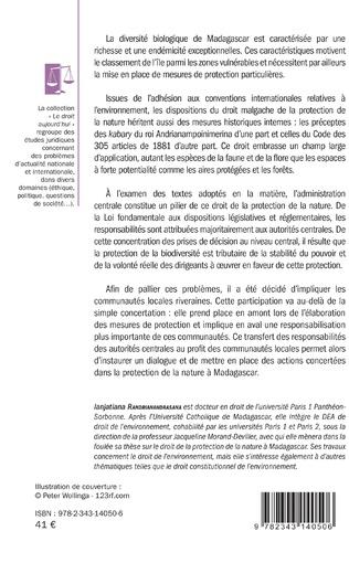 4eme Le droit de la protection de la nature à Madagascar