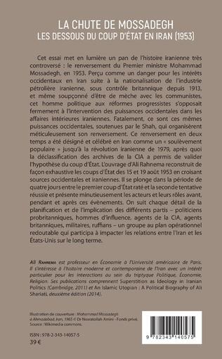 4eme La chute de Mossadegh