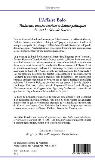 4eme L'Affaire Bolo