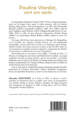 4eme Pauline Viardot, cent ans après