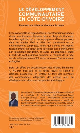 4eme Le développement communautaire en Côte d'Ivoire