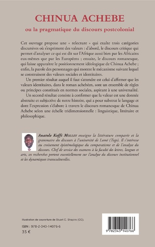 4eme Chinua Achebe ou la pragmatique du discours postcolonial