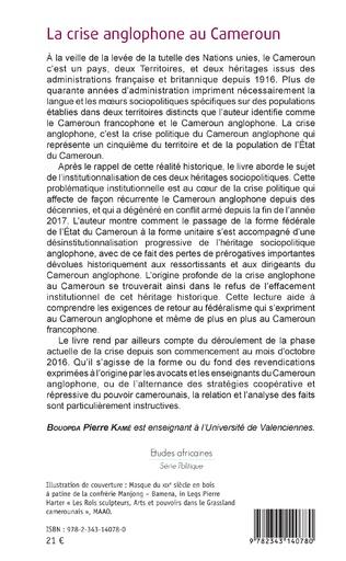 4eme La crise anglophone au Cameroun