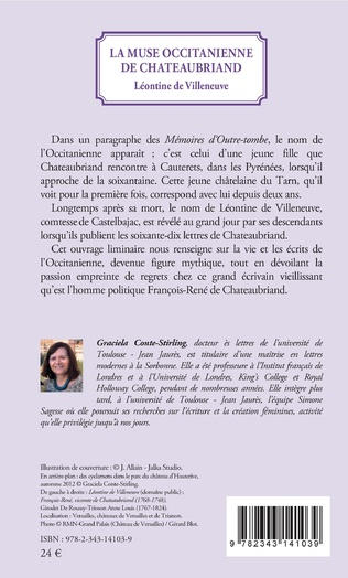 4eme La muse Occitanienne de Chateaubriand