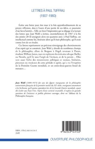 4eme Lettres à Paul Tuffrau