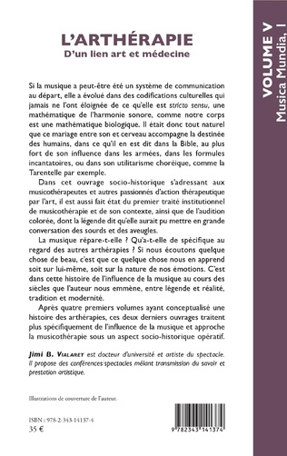 4eme L'arthérapie d'un lien art et médecine (Volume 5)