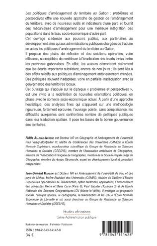 4eme Les politiques d'aménagement du territoire au Gabon
