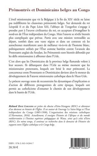 4eme Prémontrés et dominicains belges au Congo