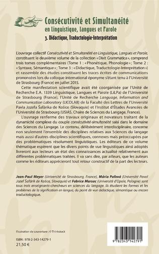 4eme Contraintes sémantiques et interprétations temporelles de la construction de simultanéité yìbiān...yìbiān... en chinois contemporain