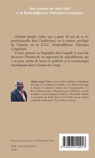 4eme Mes années de radio télé à la Radiodiffusion Télévision Congolaise
