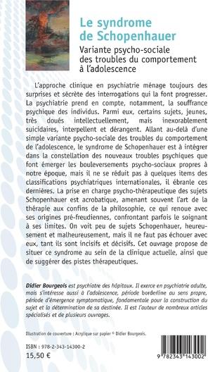 4eme Le syndrome de Schopenhauer