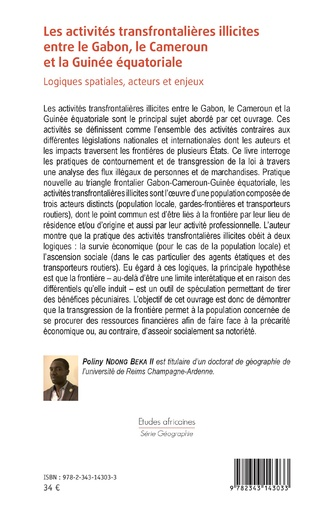 4eme Les activités transfrontalières illicites entre le Gabon, le Cameroun et la Guinée équatoriale