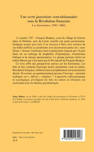 4eme Une secte janséniste convulsionnaire sous la Révolution française