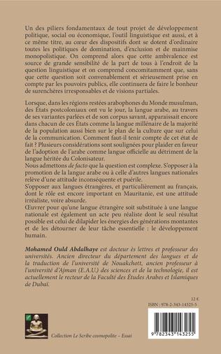 4eme La question linguistique et l'Etat postcolonial