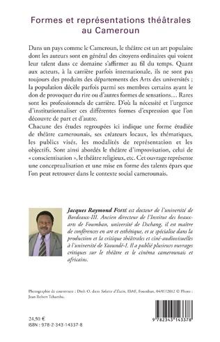 4eme Formes et représentations théâtrales au Cameroun