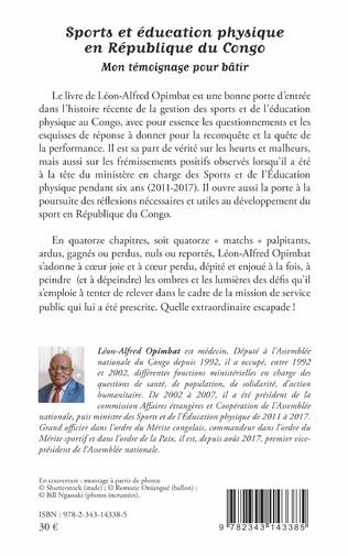 4eme Sports et éducation physique en République du Congo