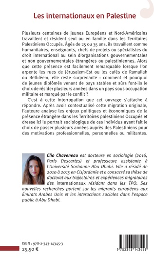 4eme Les internationaux en Palestine